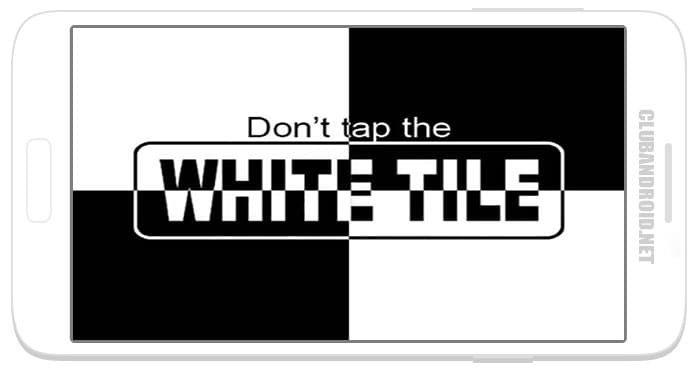 Не коснись белой плитки