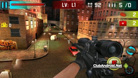 Снайпер Shoot War 3D