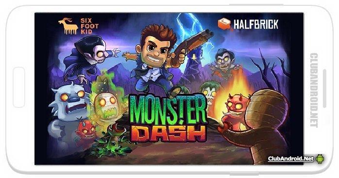 Monster Dash Мод бесплатные покупки