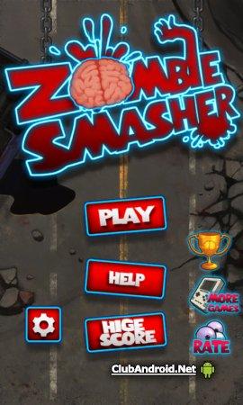Сокрушитель зомби Zombie Smash Без рекламы