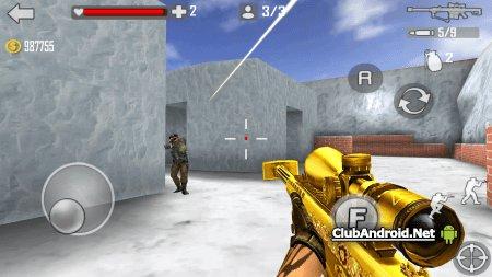 Shoot Strike War Fire Мод новое оружие