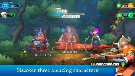 Tiny Archers Полная версия