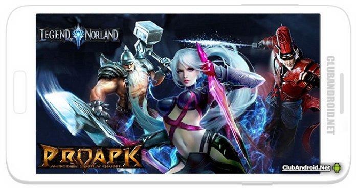Legend of Norland Мод новая экипировка