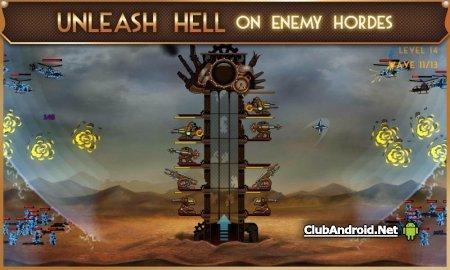 Steampunk Tower мод на деньги