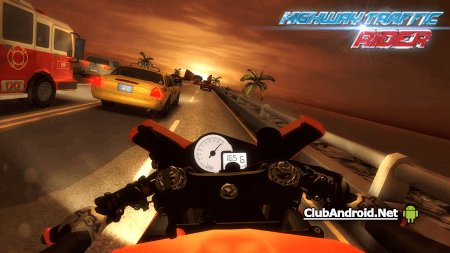 Highway Traffic Rider Мод Премиум