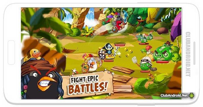 Angry Birds Epic RPG Мод без рекламы