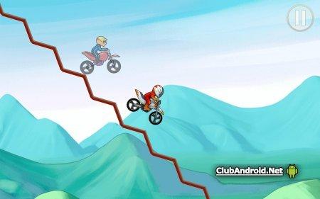Bike Race Мод Мультиплеер