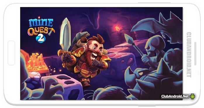Mine Quest 2 Мод неограниченное золото