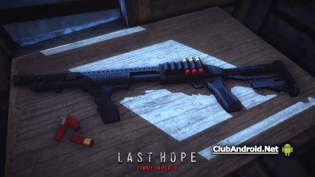 Last Hope - Zombie Sniper 3D Мод деньги