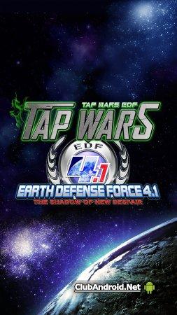 TapWars:EARTH DEFENSE FORCE4.1 Мод Полная версия