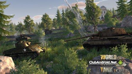 World Of Steel : Tank Force Мод исправленные ошибки