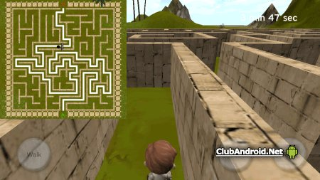 3D Maze (The Labyrinth) Мод без рекламы