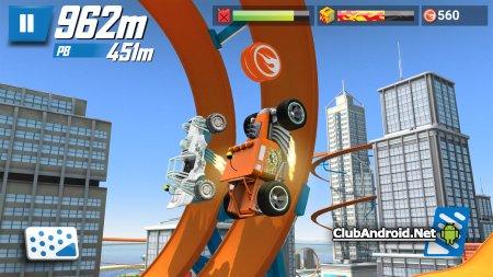 Hot Wheels: Race Off Мод разблокированные треки