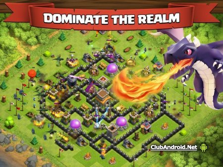 Clash of clans android много денег