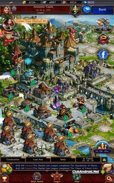 Stormfall: Rise of Balur - постройте собственный замок и укрепляйте его, во